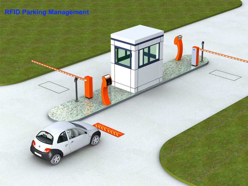 rfid parking management